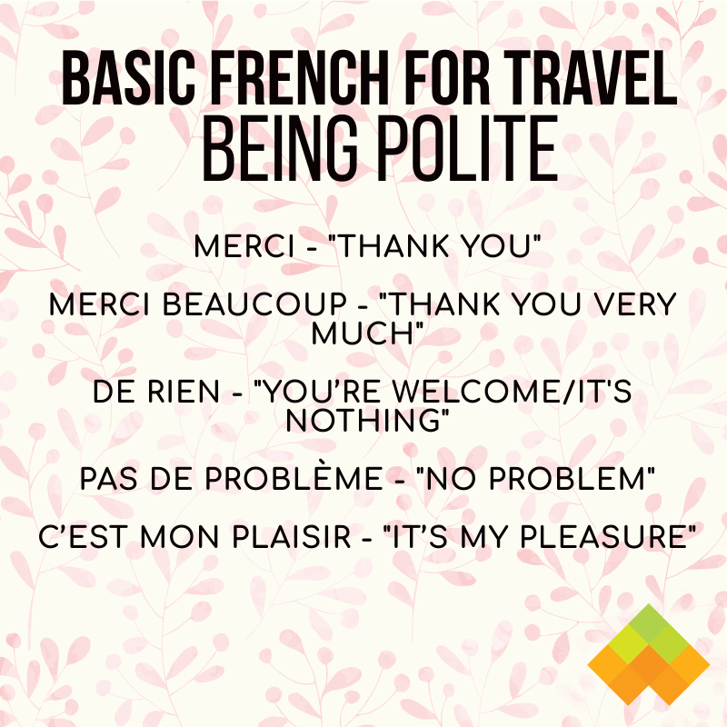 46 Basic French Words And Phrases For Travel Wyzant Blog