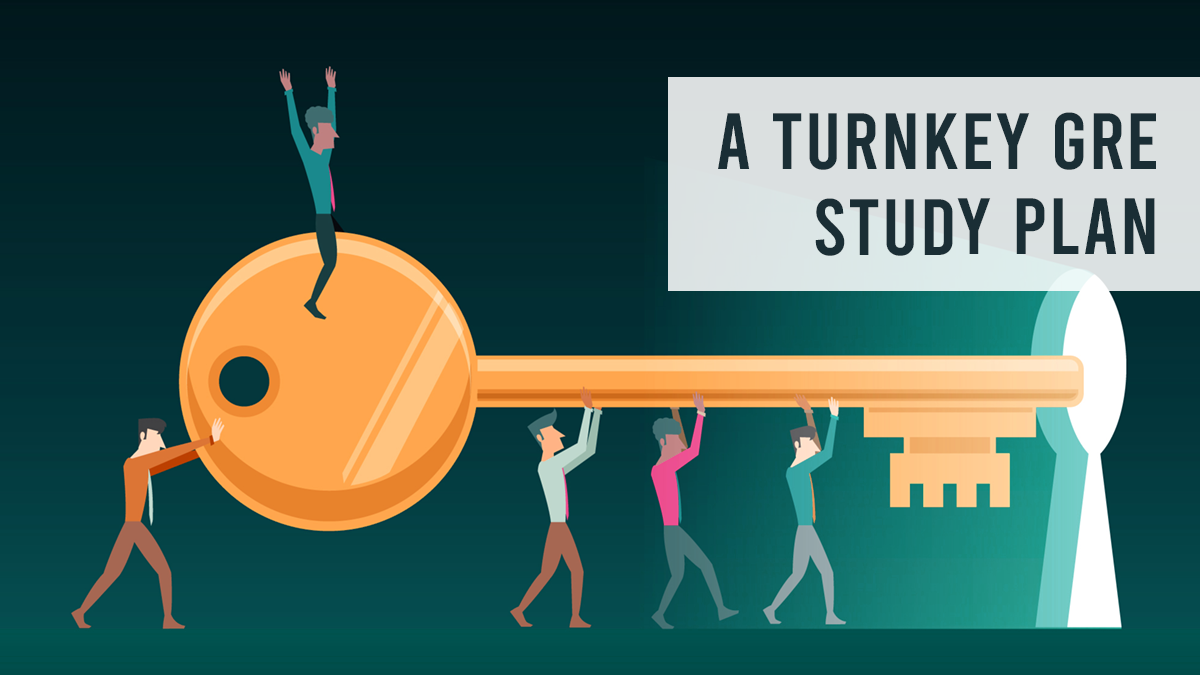 A Turnkey GRE Study Plan