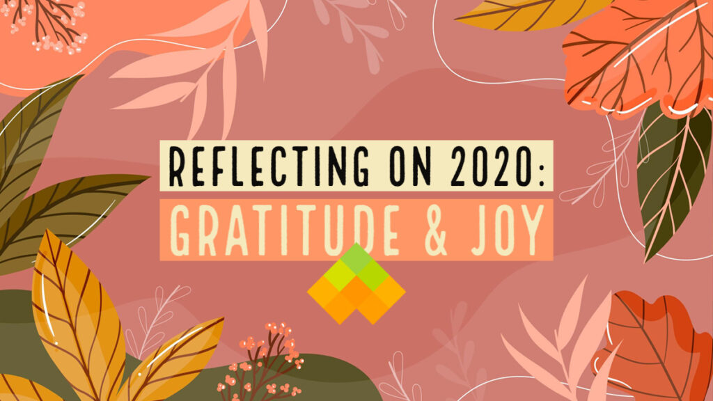 Reflecting on 2020: Gratitude and Joy