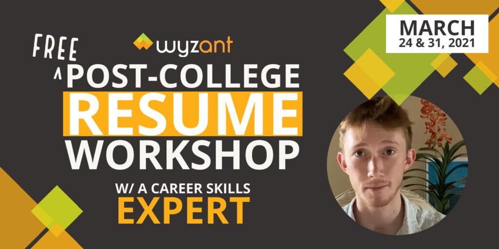 Free College Resume Workshop w Wyzant on Eventbrite